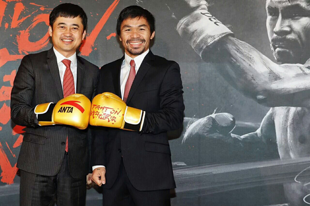 After parting of ways with Nike, Manny Pacquiao signs up as endorser of Chinese brand Anta
