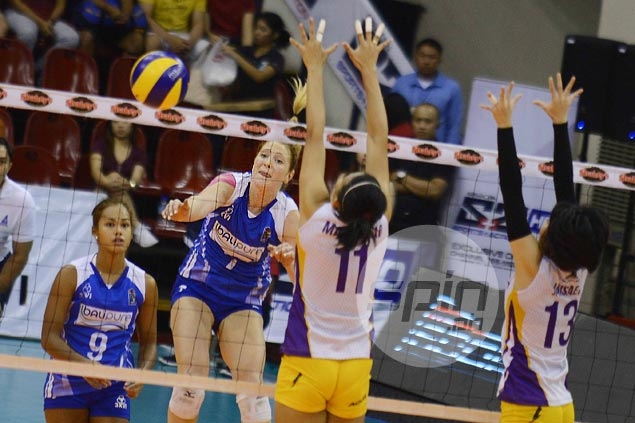 Kate Morrell shows way as Bali Pure beats Alyssa Valdez-led Customs in opener of V-League semis