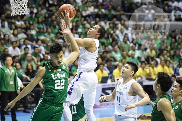Ateneo shatters La Salle cloak of invincibility, spoils Archers sweep bid with famous upset