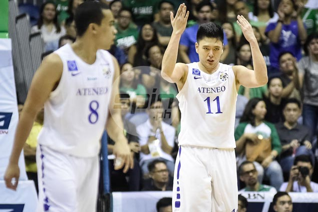 Ateneo big man Isaac Go given UAAP Player of the Week citation by scribes