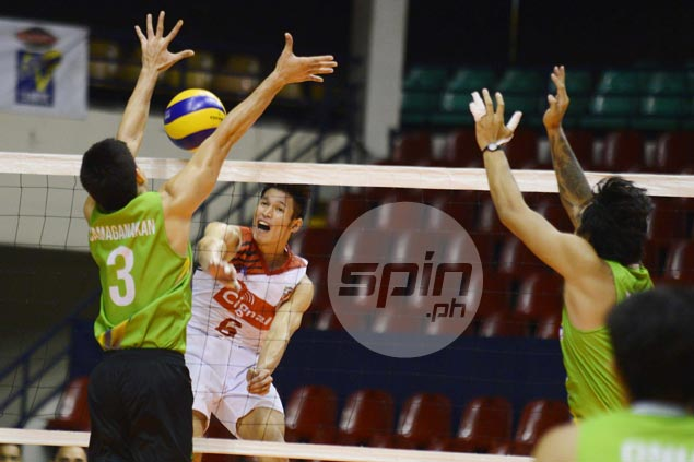 Cignal, Air Force take semis openers vs separate foes to close in on Spikers Turf finals rematch