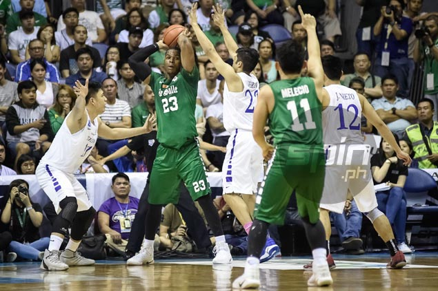 Stunning loss to Ateneo a timely wake-up call that will only make La Salle stronger, says Ben Mbala