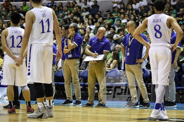 Baldwin lauds composure of young Blue Eagles in shocking upset over league-leading Archers