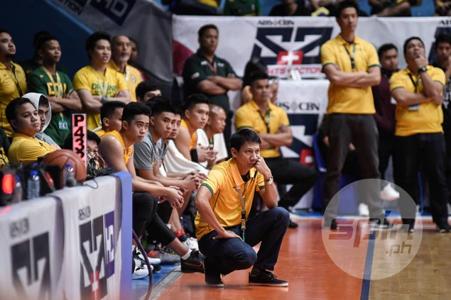 FEU coach Nash Racela not buying talk that rust led to lackluster play for Tamaraws