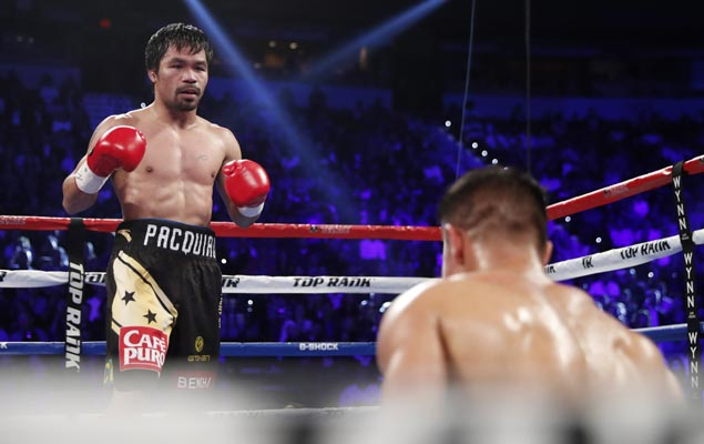 Thanks to Pacquiao-Horn fight, boxing's popularity rising in land of rugby, footy, cricket