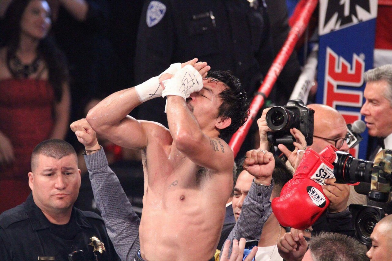 No time to celebrate as Manny Pacquiao head injury needed 16 stiches to close