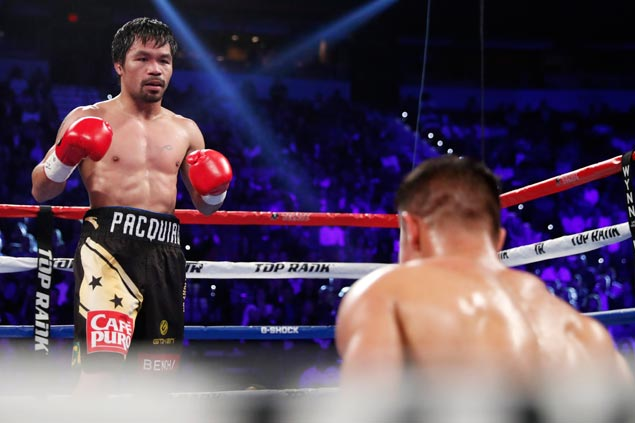 Manny Pacquiao back with a bang after brief retirement, beats Jessie Vargas via unanimous decision