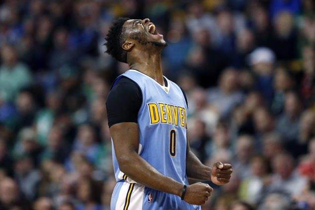 Emmanuel Mudiay waxes hot early as hot-shooting Nuggets blow out skidding Celtics