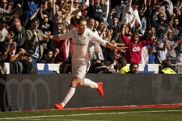 Gareth Bale strikes double as Real Madrid blasts Leganes to tighten grip on La Liga lead