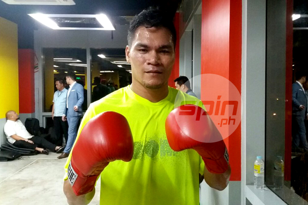 Sparring sessions with Pacquiao already felt like 'hitting the jackpot' for little-known Doronio