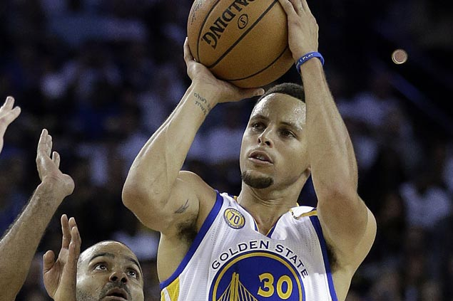 Steph Curry vows to keep firing after three-point streak comes to an end