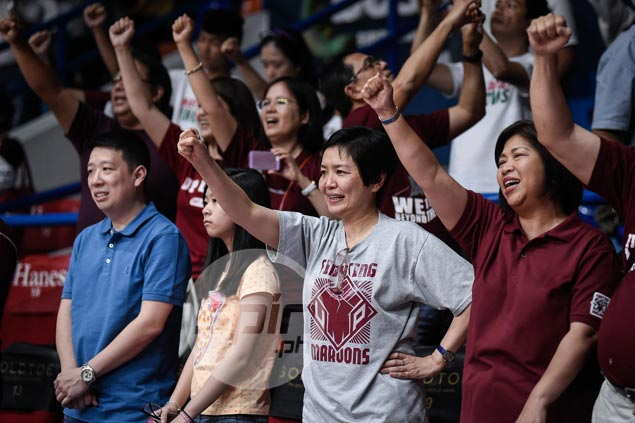 Excitement among UP players, fans grows as Maroons make unlikely run at Final Four