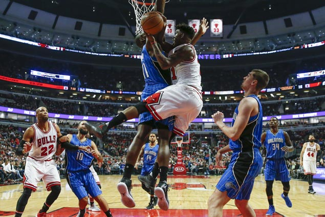 Bulls halt three-game skid with 32-point demolition of Magic