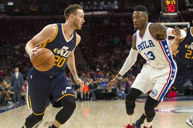 Hot-shooting Utah Jazz send winless Philadelphia Sixers to third 0-6 start in a row