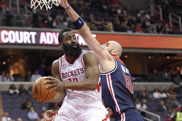 Road-weary Rockets bounce back with victory over Wizards