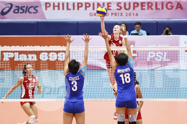 Janine Marciano takes charge after early Morales exit as Cignal edges Generika