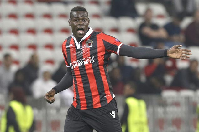 Mario Balotelli on target as Nice leads fightback to salvage draw with Caen in Ligue 1