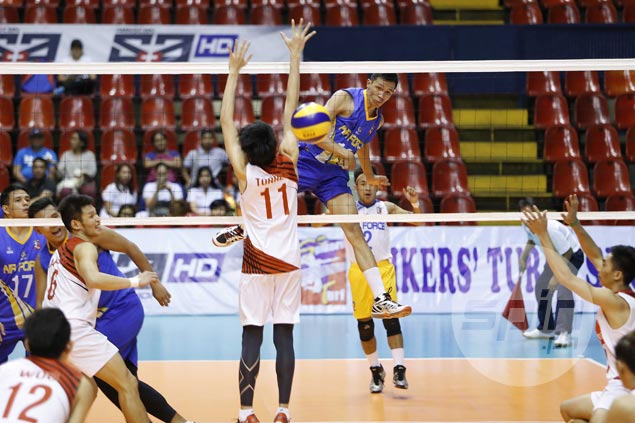 Air Force draws first blood in Spikers Turf finals against titleholder Cignal