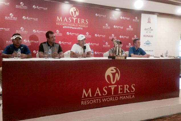 Miguel Tabuena eager to atone as Resorts World Manila Masters returns to Southwoods