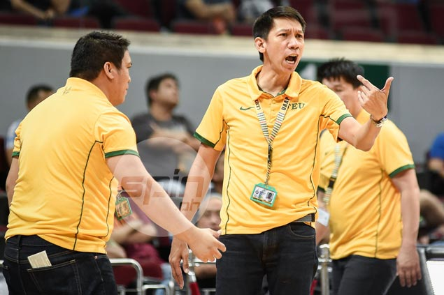 Nash Racela laments referees hindered FEU from building any momentum