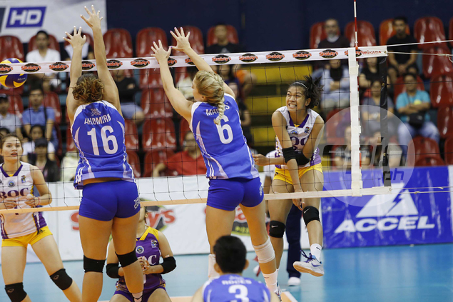 Customs regains composure in time to beat Bali Pure, reach V-League finals