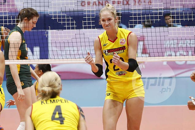 Hayley Spelman shows grit in playing through bum stomach to lead F2 Logistics resurgence