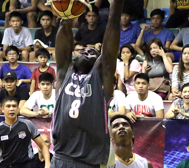 With Ebondo out, CEU suddenly the underdog in UCBL finals vs CdSL Griffins