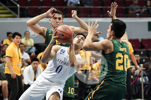 Thirdy Ravena comes up clutch as Ateneo extends FEU Tamaraws' misery