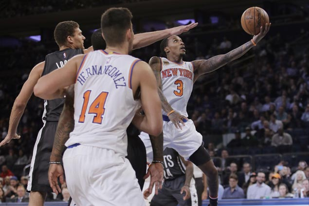 Knicks recover from early double-digit deficit to rip Nets