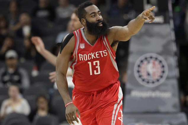 Rockets take charge early and hold on to deal Spurs third straight home loss