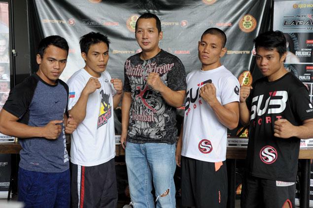 Reymond Doliguez-Rey Seneres bout headlines PXC Laban MMA Manila fight card