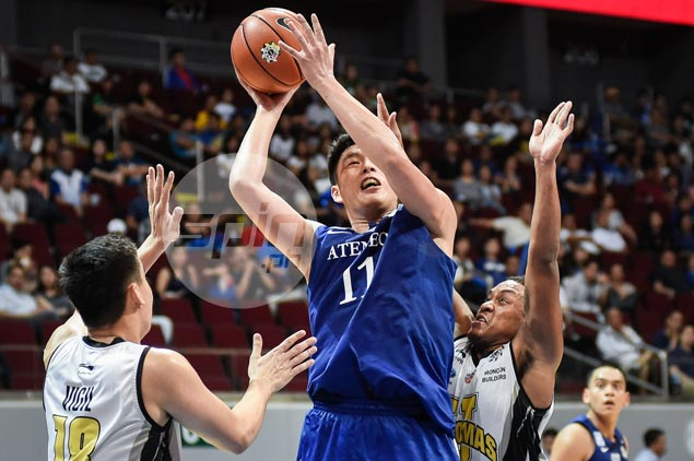 Ateneo Blue Eagles clobber also-ran UST Tigers to boost bid for twice-to-beat advantage
