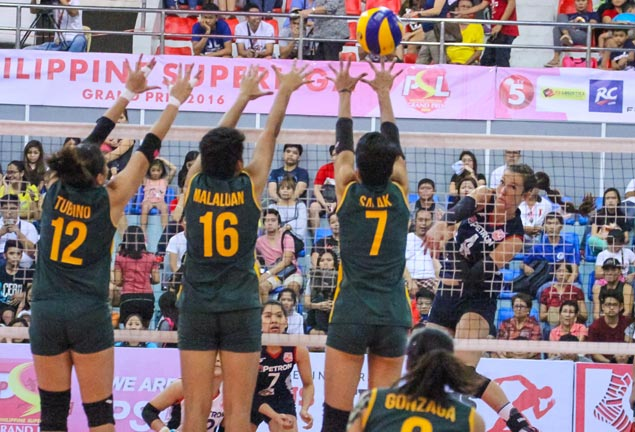 Stephanie Niemer fuels Petron's big win over struggling RC Cola Army in PSL Grand Prix