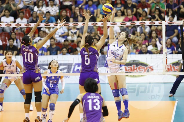 Pocari Sweat clobbers Customs to close in on second straight V-League title