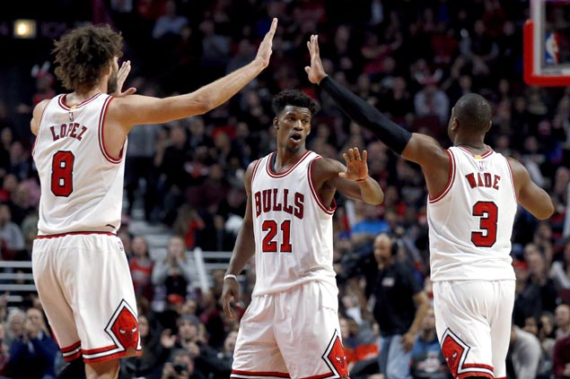 Jimmy Butler stars as Bulls down Wizards side missing John Wall