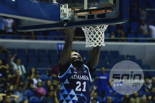 Adamson import Papi Sarr starting to find his groove, hopes to hit top form halfway through eliminations