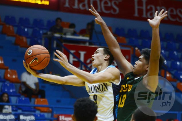 Adamson Baby Falcons down FEU Baby Tams for second straight win in UAAP Juniors basketball
