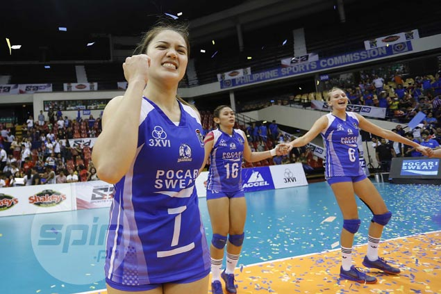 Stopping Alyssa Valdez key to Pocari Sweat title romp, says Michele Gumabao