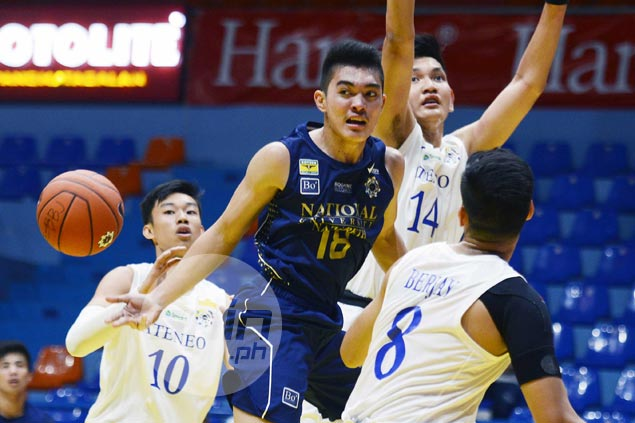 NU Bullpups shoot down Ateneo Blue Eaglets to gain share of early lead in UAAP Jrs