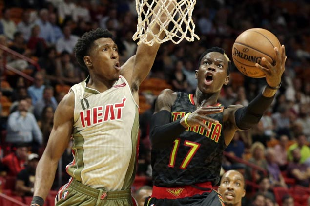 Hawks stretch streak to five and send Heat to sixth straight loss