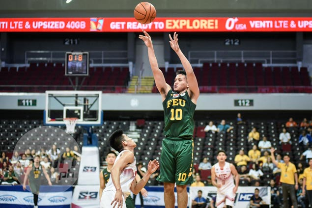 Wendell Comboy sparks late rally as FEU gets by UE to stay in hunt for twice-to-beat spot