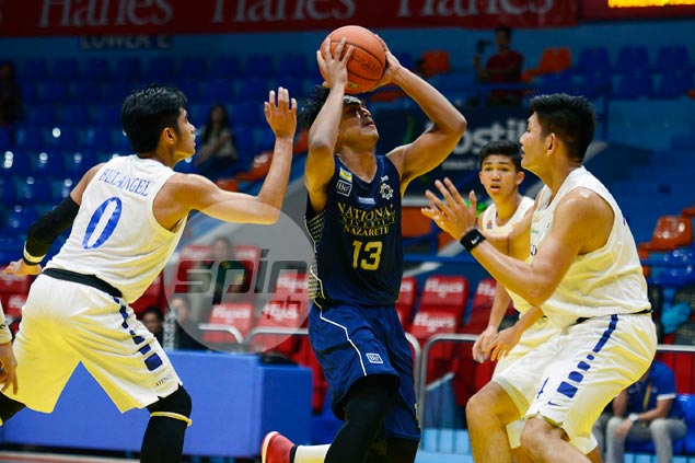 At only 15, Rhayyan Amsali has emerged as a force in UAAP juniors ball