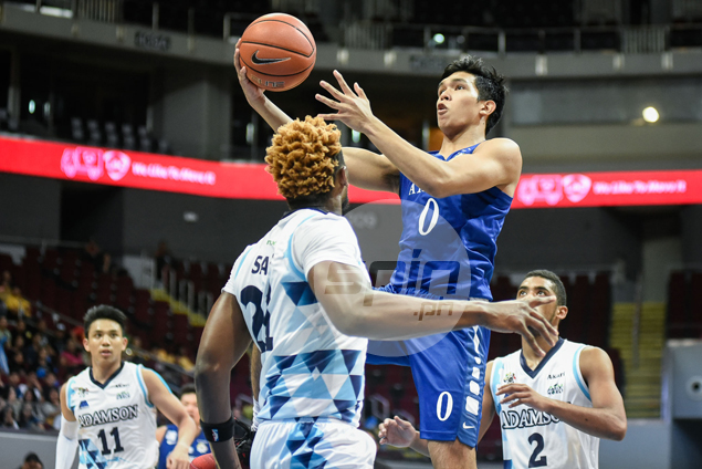 Ateneo Blue Eagles ground Adamson, secure twice-to-beat advantage as No. 2 seed