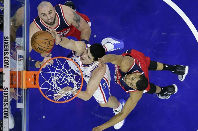 Strong start earns Sixers victory over slumping Wizards