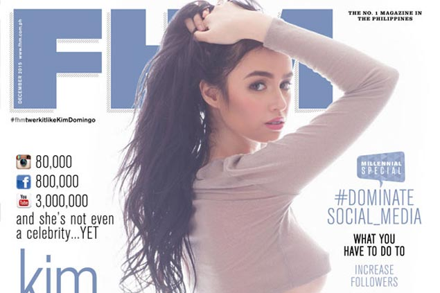Ginebra eyes Kim Domingo, three other teams name FHM cover girls as muses