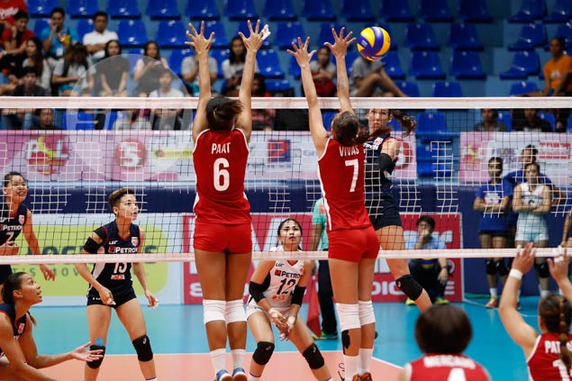 Petron simply too good in three-set demolition of Cignal in Super Liga GP