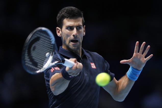 Novak Djokovic cruises past David Goffin for third win in a row at ATP Finals