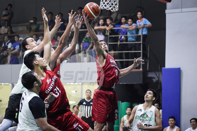 Ginebra back in dominant form in dealing GlobalPort a 21-point drubbing in tuneup game
