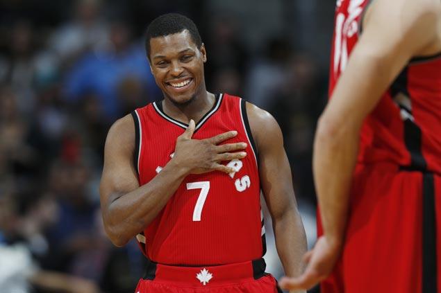 Kyle Lowry sinks huge endgame triple as Raptors hit 14 treys in big win over Bucks