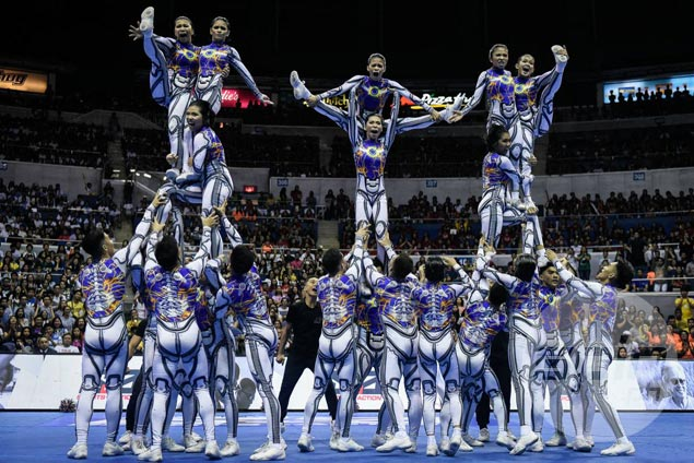 NU Pep Squad not threatened by UP comeback in UAAP Cheerdance, says coach